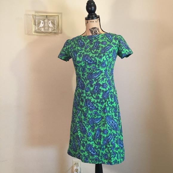 031e250e450f 💘LOVE IT  28💘 Vintage 60s Paisley Mini Dress